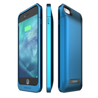 Elite Pro Plus Battery Case for iPhone 6 Plus and 6s Plus, Blue