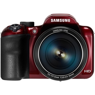 WB1100F 16.2MP 720p HD Video Smart Digital Camera - Red