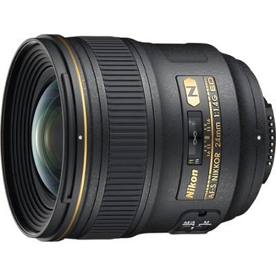 24mm F/1.4G ED AF-S Wide-Angle Lens - OPEN BOX
