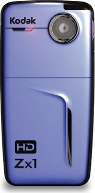 Zx1 Pocket Video Camera (Blue)