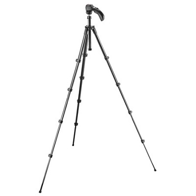 Compact Series Tripod with Built-in Photo/Movie Head (Black)(MKC3-H01)