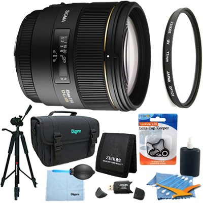 85mm F1.4 EX DG HSM Lens for Canon EOS Lens Kit Bundle