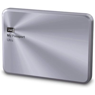 4TB My Passport Ultra Metal Edition Portable External Hard Drive (Silver)