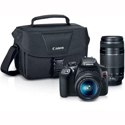 EOS Rebel T6 DSLR Camera w/ EF-S 18-55mm IS II and EF 75-300mm F4-5.6 III Lenses