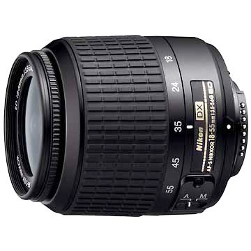 18-55mm F/3.5-5.6G ED AF-S DX Zoom-Nikkor Lens (Refurbished)
