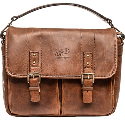 100th Anniversary Premium Leather Bag - Fits All Camera Accessories