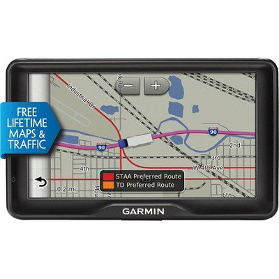 dezl 760LMT GPS with Free Lifetime Maps and Traffic