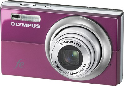 FE-5010 12MP 2.7` LCD Digital Camera (Plum Pink)