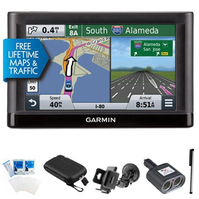 nuvi 56LMT Essential Series GPS Nav w/ Lifetime Maps & Traffic Ultimate Bundle
