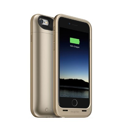 Juice Pack Plus iPhone 6 - Gold (3,300 mAh)