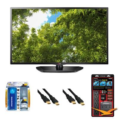55LN5400 55 Inch 1080p 120Hz Direct LED HDTV Value Bundle