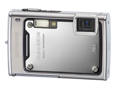 Stylus 1030 SW 10MP Shockproof Waterproof Digital Camera (Silver) - REFURBISHED