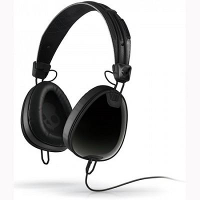 Aviator Headphones with Mic (Black)(S6AVFM-156)