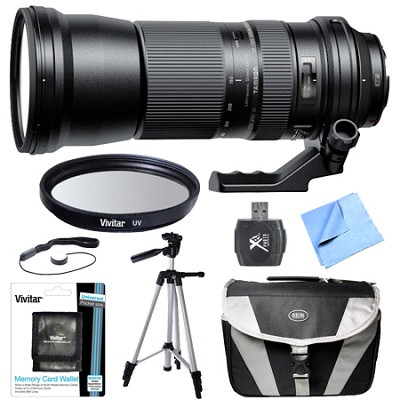 SP 150-600mm F/5-6.3 Di USD Zoom Lens All Inclusive Bundle for Sony