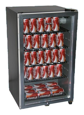 125 Can 12 oz. Capacity with Automatic Interior Light
