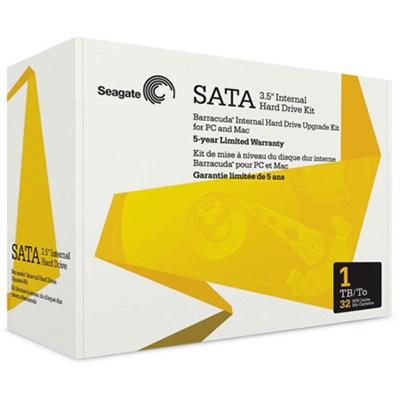 1TB Internal 3.5-Inch SATA 32MB Cache Hard Drive - OPEN BOX