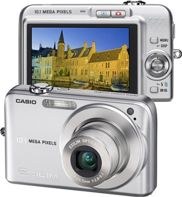 Exilim EX-Z1050 10MP Digital Camera with 2.6` LCD (Silver)
