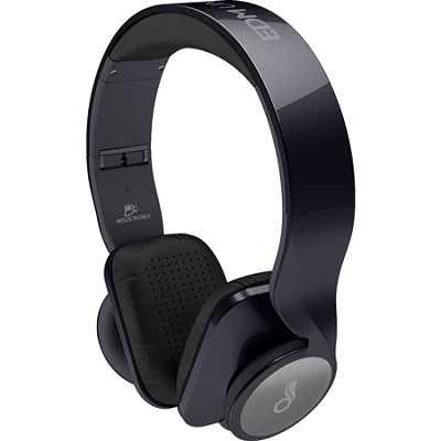 D50P-BK EDM Universe On-Ear Headphones - Metallic Black