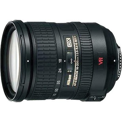 18-200MM F/3-5.6G ED-IF AF-S DX VR Zoom-Nikkor Lens - Open Box never used