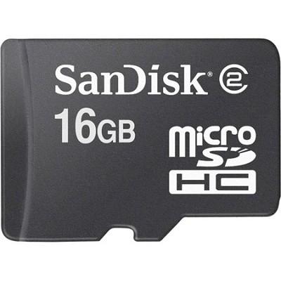 16GB Micro SDHC Flash Memory Card  MicroSD