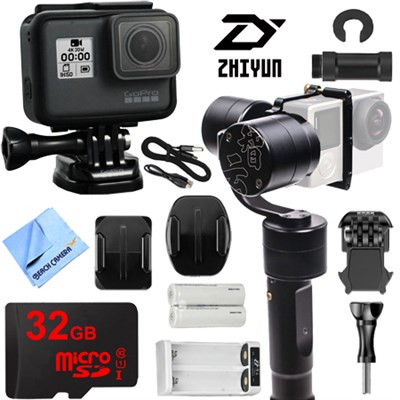 Evolution 3-Axis Handheld Gimbal Stabilizer with GoPro HERO5 Action Camera Kit