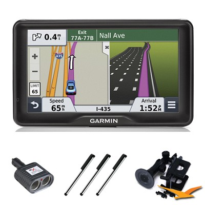 nuvi 2797LMT 7` Bluetooth GPS with Lifetime Maps and Traffic Essentials Bundle