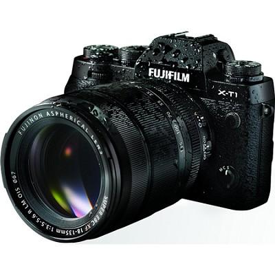 X-T1 16.3MP Full HD 1080p Black Mirrorless Digital Camera with XF18-135mm Lens