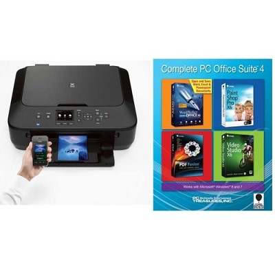 PIXMA MG5520 Wireless Inkjet Photo All-in-One Printer + Corel PC Office Suite 4