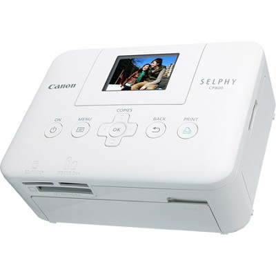 SELPHY CP800 White Compact Photo Printer