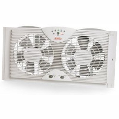 SWF4300 - Twin Window Fan with Electronic Thermostat