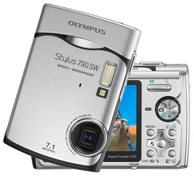Stylus 790 SW Digital Camera (Silver)