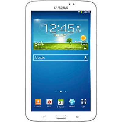 Galaxy Tab 3 Tablet (7-inch, White) - Manufacturer Refurbished