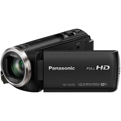 HC-V270K Super Zoom Camcorder with Built-in WiFi - OPEN BOX
