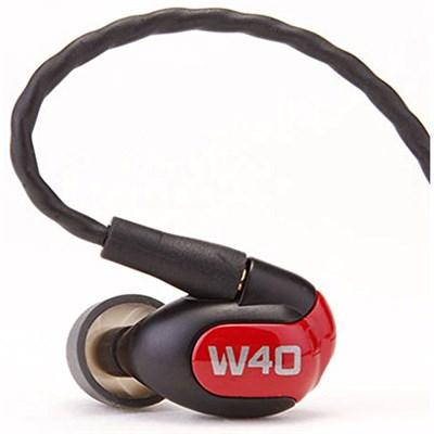W40 Quad Driver Premium In-Ear Monitor Headphones - 78504