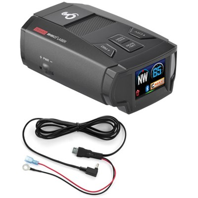 SPX 7800BT Bluetooth Radar/Laser/Camera Detector & Direct Mount Bundle