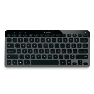 K810 Bluetooth Illuminated Wireless Keyboard for PCs Smartphones - 920-004292