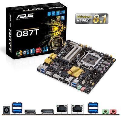 Mini ITX DDR3 1600 LGA 1150 Motherboard - Q87T/CSM