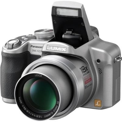 Lumix DMC-FZ28S 10 MP Digital Camera w/ 18x Optical Zoom (Silver) - OPEN BOX