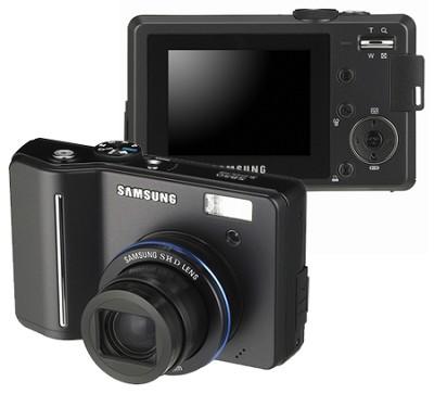 Digimax S850 8.1 MP Digital Camera (Black)