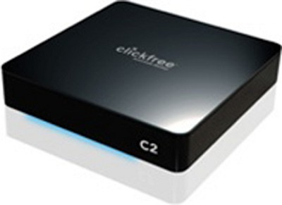 C2 Portable Backup - Hard drive - 1 TB - external - SuperSpeed USB - black