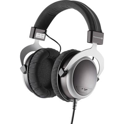 T70P Over-the-Ear Headphone - Black/Grey 32 Ohms