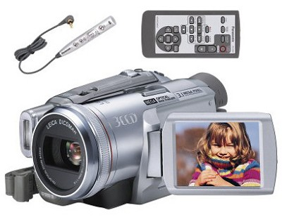 PV-GS250 MiniDV Digital Camcorder w/3CCD & 3.1Megapixel Camera