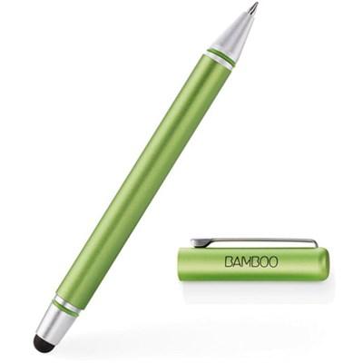 Gen 3 Bamboo Tablet Stylus Duo with Ballpoint Pen - Green - CS170E