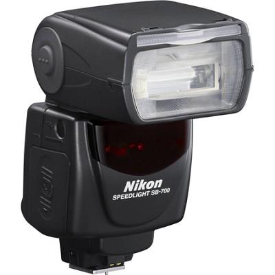 SB-700 AF Speedlight Flash for Nikon Digital SLR Cameras - 4808 - OPEN BOX