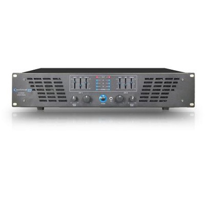2U Professional 2CH Power Amplifier 3000 watts peak power