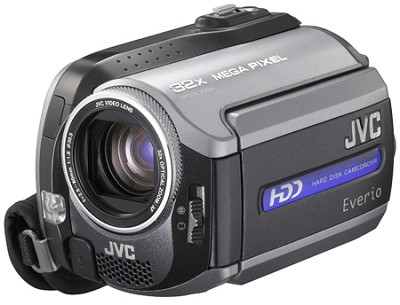 GZMG155 - Everio Hybrid Camcorder with 30GB HDD, 32x Optical Zoom