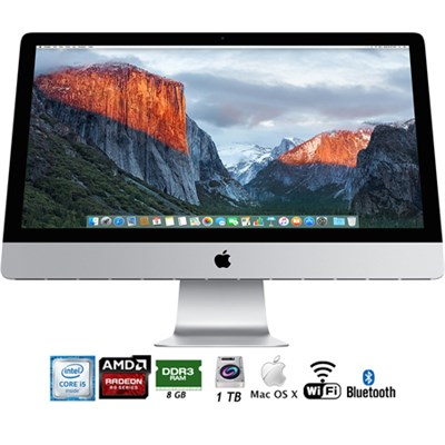27` iMac with Retina 5K Display (FK472LL/A) - (Certified Refurbished)