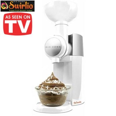 Swirlio Frozen Fruit Dessert Maker - White/Silver