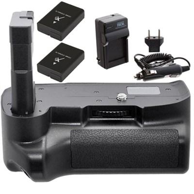 Battery Grip Kit for Nikon D3100 D3200 D3300 Digital SLR Camera w/ Battery Pack