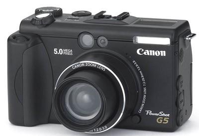 Powershot G5 Digital Camera